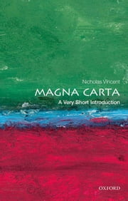 Magna Carta: A Very Short Introduction ebook by Nicholas Vincent