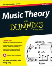 Music Theory For Dummies ebook by Michael Pilhofer,Holly Day