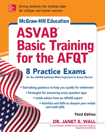 Mcgraw hill education asvab basic training for the afqt third mcgraw hill education asvab basic training for the afqt third edition ebook by janet fandeluxe Gallery