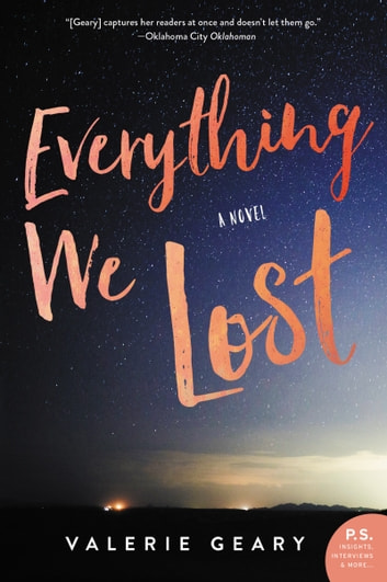 Everything We Lost - A Novel ebook by Valerie Geary