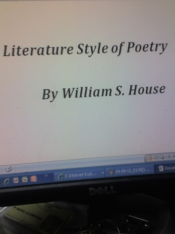 Literature Style Of Poetry ebook by william house