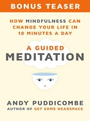 How Mindfulness Can Change Your Life in 10 Minutes a Day - A Guided Meditation ebook by Andy Puddicombe