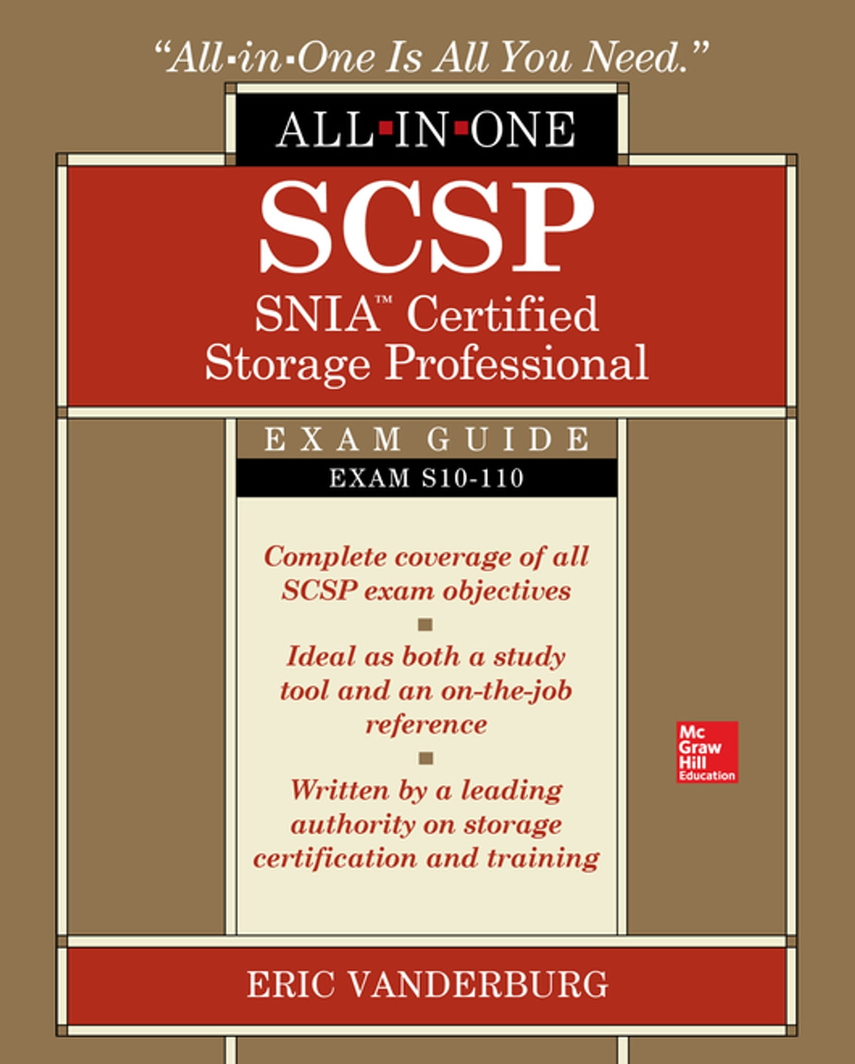 Scsp Snia Certified Storage Professional All In One Exam Guide Exam