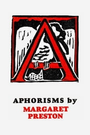 Aphorisms ebook by Margaret Preston