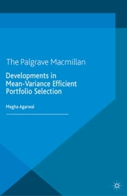 Developments in Mean-Variance Efficient Portfolio Selection ebook by M. Agarwal