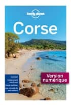 Corse 13 ebook by LONELY PLANET