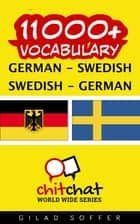 11000+ Vocabulary German - Swedish ebook by Gilad Soffer