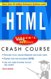 Schaum's Easy Outline of HTML ebook by Mercer, David