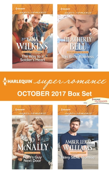 Harlequin Superromance October 2017 Box Set - An Anthology ebook by Gina Wilkins,Jo McNally,Heatherly Bell,Amber Leigh Williams