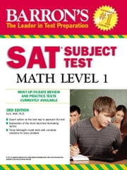 SAT Subject Test In Math Level 1 ebook by Ira K. Wolf