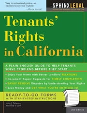 Tenants' Rights in California ebook by John Talamo