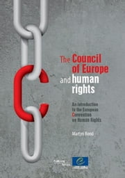 The Council of Europe and human rights ebook by Collectif