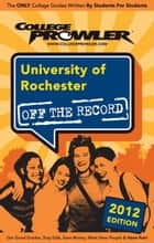 University of Rochester 2012 ebook by Dave Levy