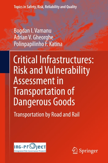 Critical Infrastructures: Risk and Vulnerability Assessment in Transportation of Dangerous Goods - Transportation by Road and Rail ebook by Bogdan I. Vamanu,Adrian V. Gheorghe,Polinpapilinho F. Katina