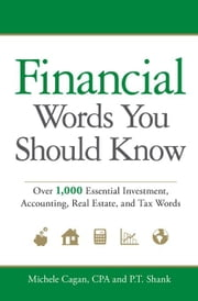 Financial Words You Should Know: Over 1,000 Essential Investment, Accounting, Real Estate, and Tax Words ebook by Cagan, Michele
