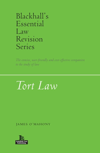 Tort Law ebook by James O'Mahony