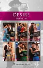 Desire Box Set 1-6 Nov 2020/In Bed with His Rival/All He Wants for Christmas/Claiming the Rancher's Heir/Slow Burn/Vows in Name Only/The S ebook by Katherine Garbera, Naima Simone, Maisey Yates,...