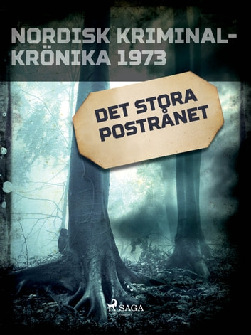 Det stora postrånet ebook by - Diverse