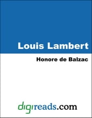 Louis Lambert ebook by Balzac, Honore de