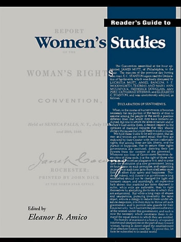 Reader's Guide to Women's Studies eBook by