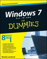 Windows 7 All-in-One For Dummies ebook by Woody Leonhard