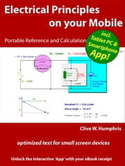 Electrical Principles on your Mobile ebook by Clive W. Humphris