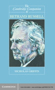 The Cambridge Companion to Bertrand Russell ebook by Nicholas Griffin
