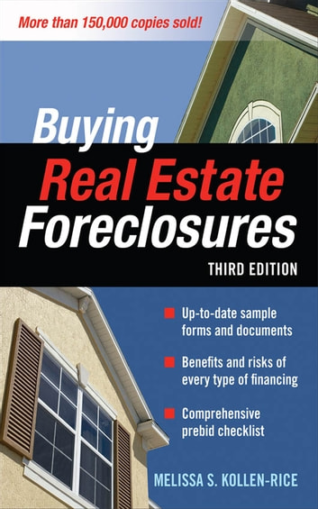 Buying real estate foreclosures 3e ebook by melissa s kollen rice buying real estate foreclosures 3e ebook by melissa s kollen rice fandeluxe Image collections
