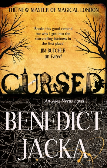 Cursed - An Alex Verus Novel from the New Master of Magical London ebook by Benedict Jacka