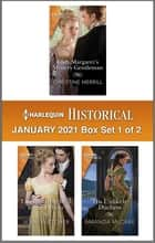 Harlequin Historical January 2021 - Box Set 1 of 2 ebook by Christine Merrill, Jenni Fletcher, Amanda McCabe