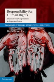 Responsibility for Human Rights - Transnational Corporations in Imperfect States ebook by Dr David Jason Karp