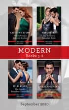 Modern Box Set 5-8 Sept 2020/The Forbidden Cabrera Brother/The Sicilian's Banished Bride/The Greek's Penniless Cinderella/The Most Pow ebook by Julia James, Jackie Ashenden, Maya Blake,...