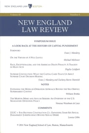 New England Law Review: Volume 48, Number 4 - Summer 2014 ebook by New England Law Review