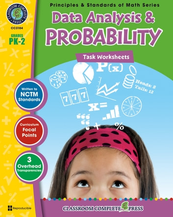Data Analysis & Probability - Task Sheets Gr. PK-2 ebook by Tanya Cook