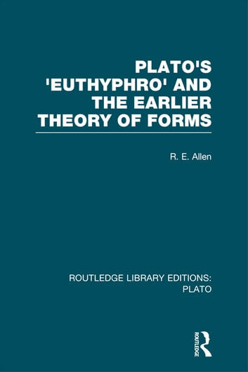 plato's euthyphro Video created by national university of singapore for the course reason and persuasion: thinking through three dialogues by plato we start with plato's euthyphro, a short dialogue in which socrates debates the nature of holiness with a.
