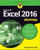 Excel 2016 For Dummies ebook by Greg Harvey