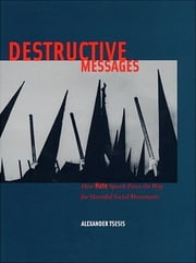 Destructive Messages - How Hate Speech Paves the Way For Harmful Social Movements ebook by Alexander Tsesis