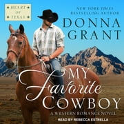 My Favorite Cowboy audiobook by Donna Grant