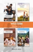 Western Box Set Mar 2021/An Unexpected Father/Making Room for the Rancher/The Littlest Cowgirls/Coming Home to Texas ebook by Marie Ferrarella, Melinda Curtis, Christy Jeffries,...