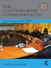 The Contemporary Commonwealth - An Assessment 1965-2009 ebook by James Mayall