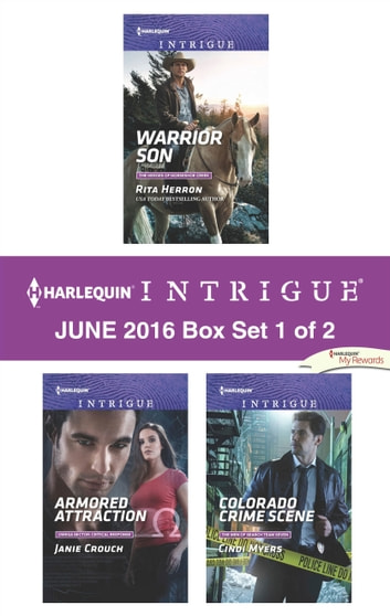 Harlequin Intrigue June 2016 - Box Set 1 of 2 - An Anthology ekitaplar by Rita Herron,Janie Crouch,Cindi Myers