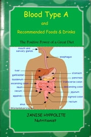 Blood Type A and recommended foods & Drinks ebook by Janise Hyppolite