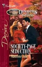 Society-Page Seduction ebook by Maureen Child