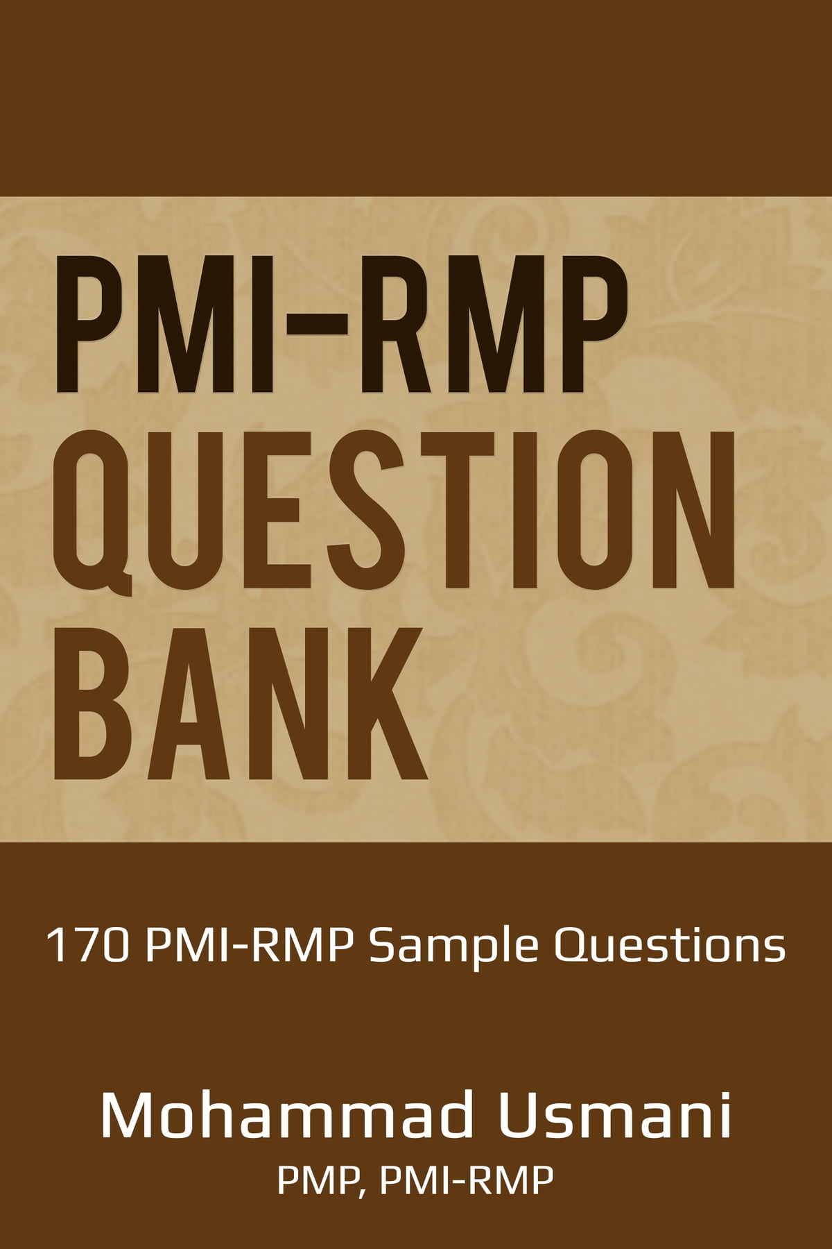Pmi Rmp Question Bank Ebook Di Mohammad Usmani 9781311729071