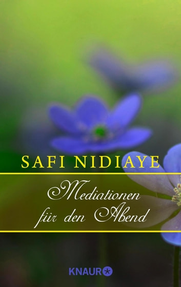 Meditationen für den Abend eBook by Safi Nidiaye