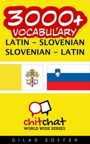 3000+ Vocabulary Latin - Slovenian ebooks by Gilad Soffer