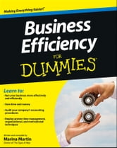 Business Efficiency For Dummies ebook by Marina Martin