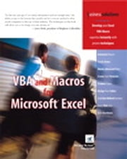 VBA and Macros for Microsoft Excel ebook by Tracy Syrstad,Bill Jelen