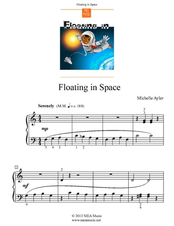 Floating in Space ebook by Michelle Ayler