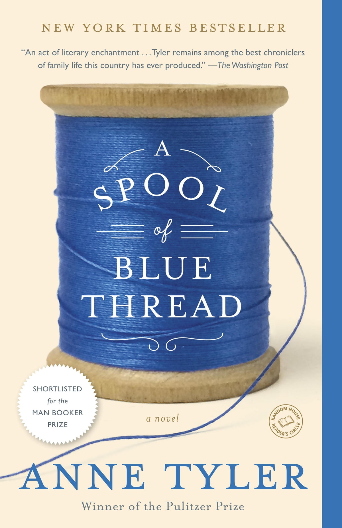 A Spool Of Blue Thread Ebook By Anne Tyler  9781101874288  Rakuten Kobo